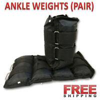 NEW ANKLE WEIGHTS ADJUSTABLE STRAP 2 LB 3 LB. 5 LBS 10LB 12 LB 16 LBS. 20 POUND