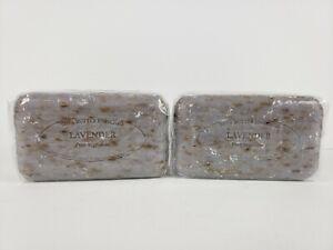 Pre de Provence LAVENDER BUD 150 Gram French Soap Bath Shower Bar Shea Butter X2