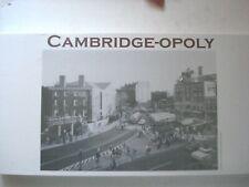 Cambridge-opoly Board Game   Cambridge, MA  Factory Sealed New Cambridge Opoly