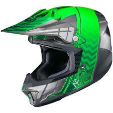 HJC CL-X7 Motocross Helmet - Cross Up Green - Size: Large - SHIPS FREE