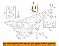 TOYOTA OEM Headlight Head Light Lamp-Mounting Repair Bracket Left 8119447130