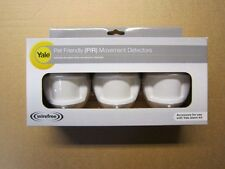 YALE PET HSA6031 3pack PET Friendly PIRS alarm 2 yr guaranty NOT for EF/SR range