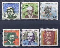 32996) Czechoslovakia 1972 MNH Artists 6v Scott #1819/24