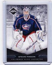 11-12 2011-12 LIMITED STEVE MASON GOALIE BASE /99 194 COLUMBUS BLUE JACKETS