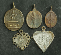 1750, Germany/Austria. Various Piligrimage Medals (Wahlfartsmedaillen). 5pcs!