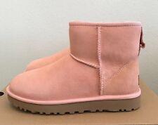 UGG Australia Womens Classic Mini II Boots Tropical Peach Size 7 Warm Wool