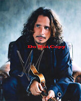 CHRIS-CORNELL- Signed 8x10 autographed Photo RP