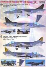 Print Scale Decals 1/48 MCDONNELL DOUGLAS AV-8B HARRIER II Part 1