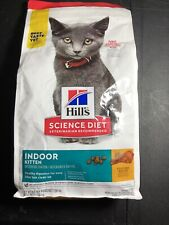 Hill's Science Diet Dry Cat Food Indoor,Kitten,Chicken Recipe,3.5 lb Bag