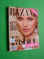 Harper's Bazaar US March 2010 Kate Moss Anna Selezneva Carmen Kass Shalom Harlow