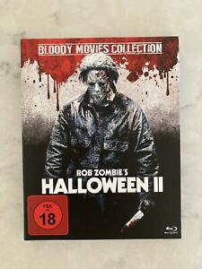 Halloween 2 (2009) Bluray Rob Zombie Like New Rare Bloody Foreign Import Horror
