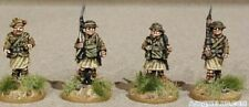 SGTS MESS HG05 1/72 Diecast WWII Four Scottish Infantry with Chest Respirators