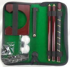 Selbstaufbarer Golfschläger Putter 3 Eisen mit Tasche und Zubehör
