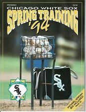 1994 CHICAGO WHITE SOX Spring Training Program w/ MICHAEL JORDAN