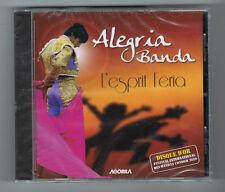 ALEGRIA BANDA - L'ESPRIT FÉRIA - 15 TRACKS - 2010 - NEUF NEW NEU