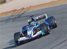 Felipe Massa Hand Signed Formula 1 F1 Photo 2005 Sauber Autograph