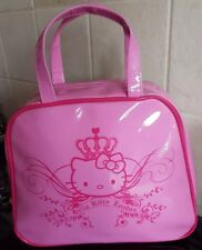 Hello Kitty London Pink Handbag - Stylish & Fashionable - PVC - NEW