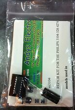 REPAIR KIT philips plasma tv 42PF5620/10 , psu 3104-328-42741 , 3104-328-42742