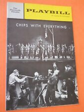 October 28 - 1963 - Plymouth Theatre Playbill -  Chips with Everything
