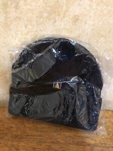 ~* Vintage Original Ansett Airlines Navy Blue Beanie Hat