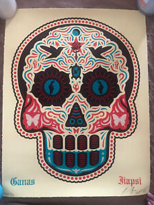 Yaqui Day of the Dead (Hand Painted Multiple) /10 Hecho Con Ganas Ernesto Yerena