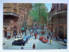 TRIESTE viale XX settembre animata auto cinema Excelsior vecchia cartolina *