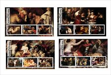 2017 PETER PAUL RUBENS ART PAINTINGS 8 SOUVENIR SHEETS MNH UNPERFORATED