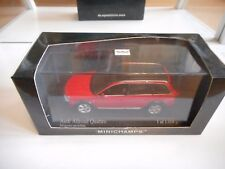 Minichamps Audi Allroad Quattro in Red on 1:43 in Box