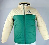 Milwaukee Bucks NBA Mens G-III Full Zip Hooded Winter Jacket L