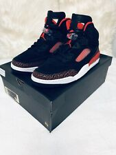 Jordan Spizike Brand New Black And Red Original And 100% Authentic Size 13