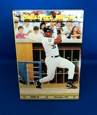 Ballstreet Journal Issue #6 November 1991 Baseball Card Pocket Price Guide Mint