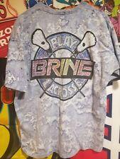 Vtg Brine Lacrosse Tie Dye Tshirt All Over Print XL