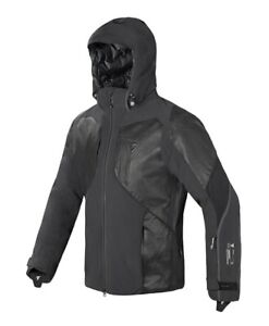 """A STEAL! Dainese """"Streif"""" Gore & leather - SKI jacket (MSRP $899). Size Euro L."""