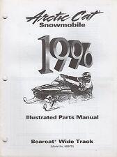 1996 Arctic Cat Snowmobile Bearcat Wide Track Parts Manual P/N 2255-385 (730)