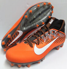 Nike Vapor Untouchable 2 Football Cleats ORANGE BROWN 835646 CLEVELAND Men 11.5