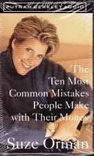 Suze Orman - The Ten Most Common Mistakes People Make With Their Money cassette