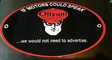 Oilzum Oils Oil Gas Oval sign ... Gasoline