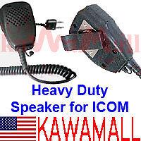 LUX Heavy Duty Speaker Mic ICOM Maxon Y-plug ICSPK