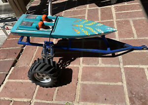 RC Boat Trailer Off-road With Boat