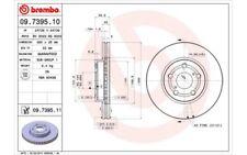 2x BREMBO Discos de Freno Traseros Ventilación interna 260mm 09.7395.11