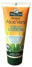 Aloe Pura Organic Aloe Vera After Sun Lotion 200ml Intensive Skin Care Treatment
