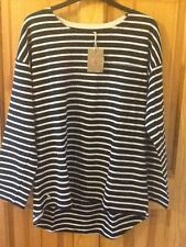 Joules Bay jersey top size 10, Hope Stripe French navy, BNWT