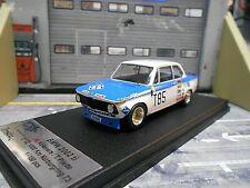 BMW 2002 ti 2002ti 1000km Nürburgring 1973 #85 Kelleners Koepchen Pi Scala 1:43