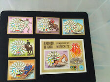 Chad 1972 Olympic Games SC#285-287 C151-153 imperf