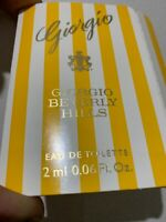 Giorgio Beverly Hills - Giorgio EDT For Women Sample