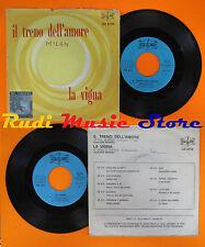 LP 45 7'' EDY BRANDO MARIO BATTAINI Il treno dell'amore La vigna italy cd mc dvd
