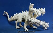 HYDRE  - BONES REAPER figurine miniature jdr rpg hydra dragon lizard head 77191