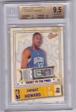 2004-05 Fleer Authentix Dwight Howard GOLD Parallel #/d 50 BGS 9.5 Rookie