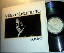 MILTON NASCIMENTO AOVIVO Barclay Latin BRAZIL LP