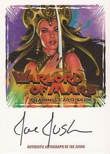 "Warlord of Mars - WMAZ-JJ1 ""Joe Jusko"" Fold-Out Z-Card Auto / Autograph"